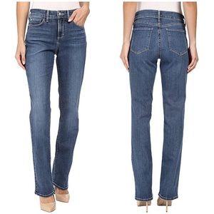 NYDJ Marilyn Straight Jeans in Heyburn Wash 4